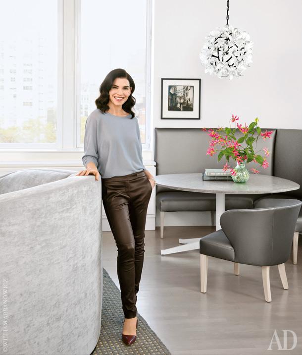 Джулианна Маргулис показала квартиру