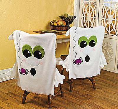 чехлы для стульев на хеллоуин, halloween chair covers