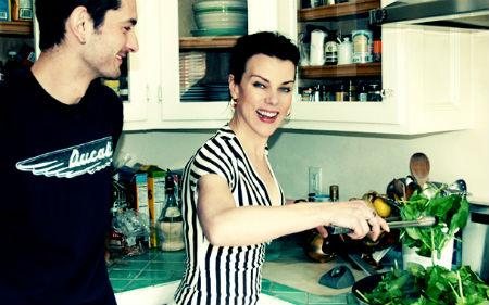 Деби Мейзер показала кухню