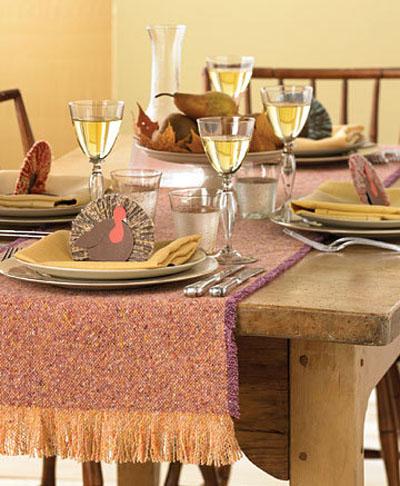день благодарения, декор стола, thanksgiving day