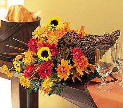рог изобилия день благодарения, декор и интерьера
