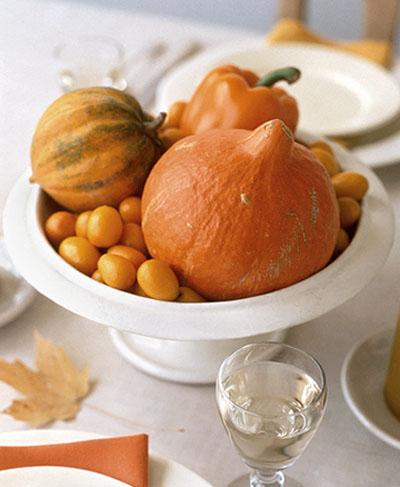 декор день благодарения, тыквы и кленовые листья