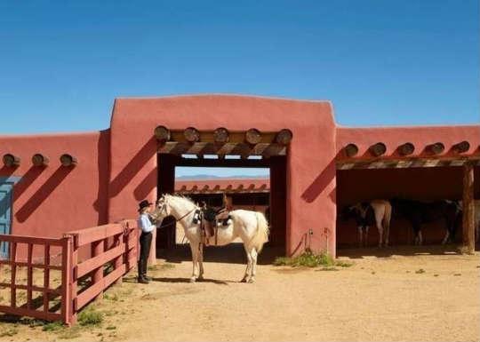 Джейн Фонда показала ранчо