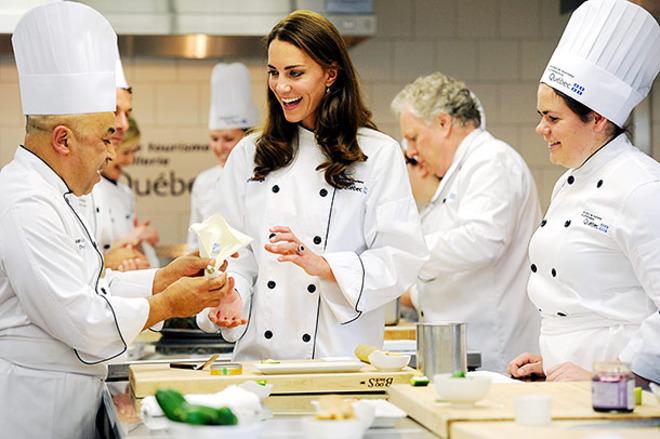 Кейт Миддлтон освоила кулинарию