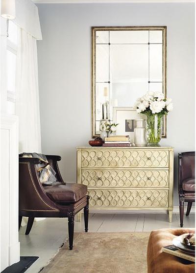 комод с зеркалом, декоративная фурнитура для дома