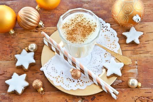 рождественский эгг-ног, напиток, рецепт