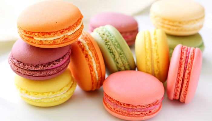 макаронс - французский десерт