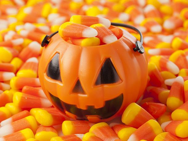 кэнди корн на хэллоуин