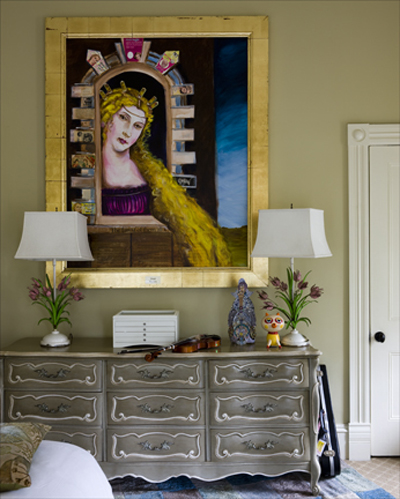 комод в винтажном стиле, интерьер и дизайн для дома