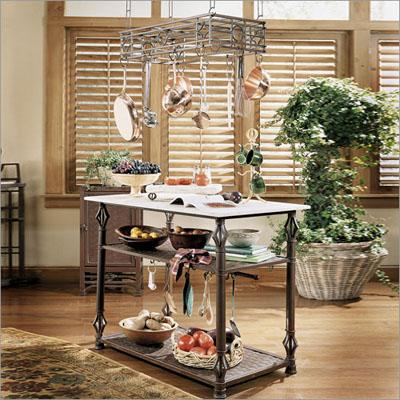 pot rack, держатель-подвеска для сковородок, кованная